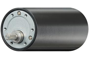 drylin® E DC motor with spur gear and protective housing
