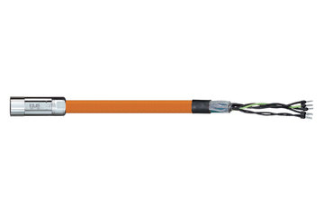 readycable® motor cable suitable for Parker iMOK43, base cable PUR 7.5 x d
