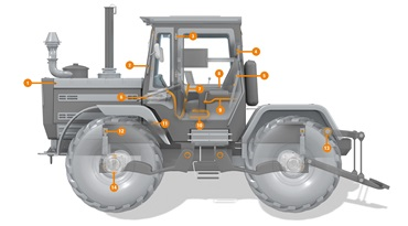 igus products in tractors